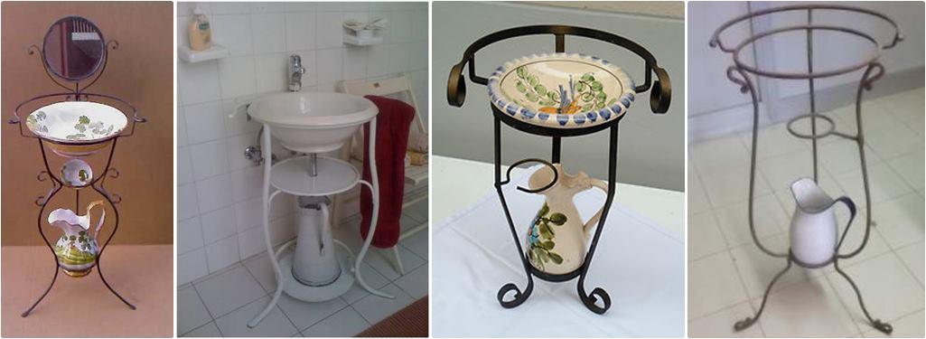 Lavatoio in ferro - storia dei lavabi