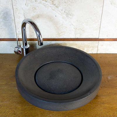 Mobili lavelli pietra o piano per lavabo da appoggio - Lavabi bagno in pietra ...