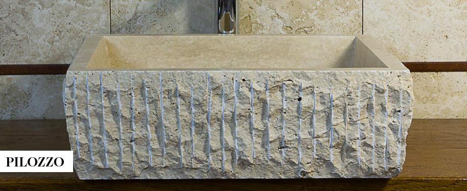 Lavandino in marmo trova l 39 ispirazione per il tuo for Lavabo pietra leroy merlin