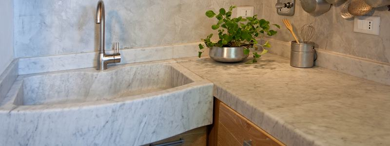 i lavabi da cucina in pietra naturale - lavandino in marmo - Lavandini Cucina In Pietra