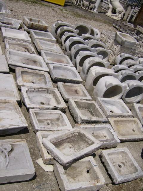 I lavabi da cucina in pietra naturale lavandino in marmo - Lavatoio in pietra da esterno ...