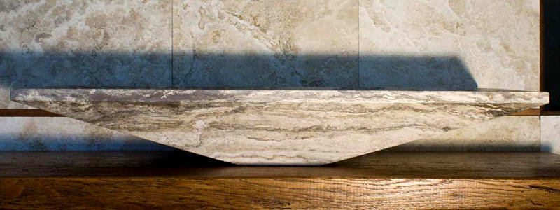 Lavabo massello di pietra