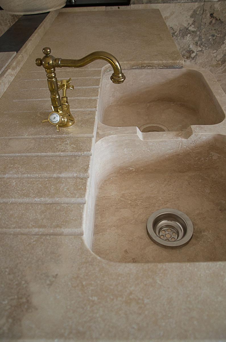 Lavello in pietra per piccole cucine – Lavandino in Marmo