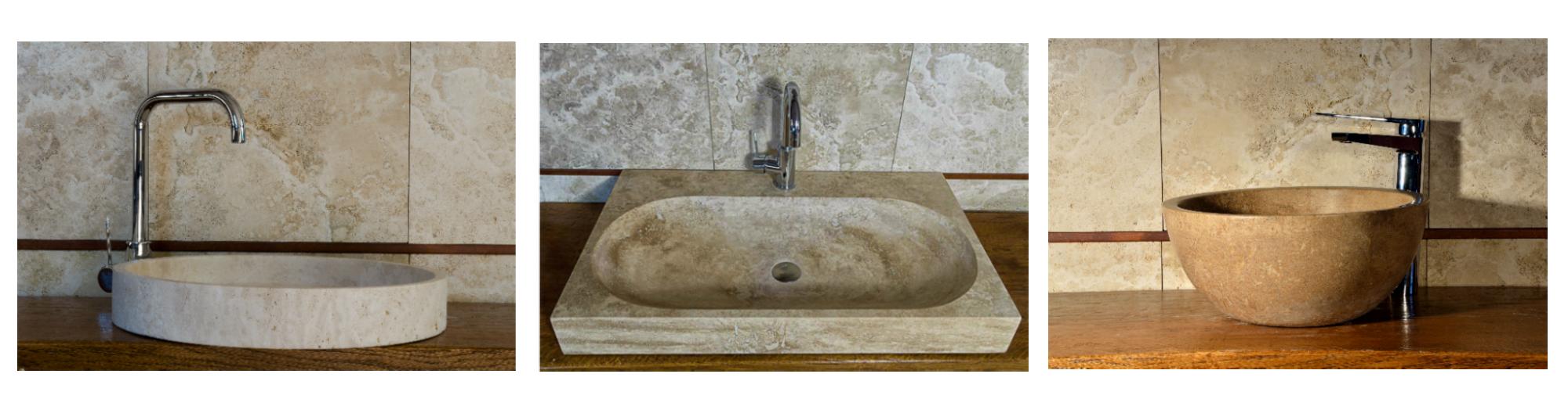Scegliere il lavabo in marmo per l arredo del bagno - Arredo bagno pietra ...