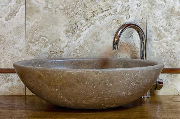 Arredare il bagno lavandini e mobili da bagno lavandino in marmo - Lavabo pietra bagno ...