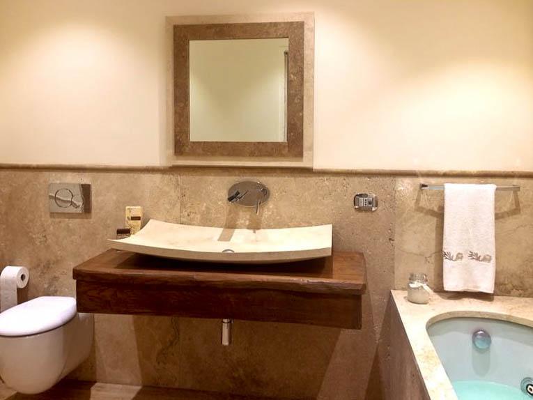 lavabi da bagno rettangolari - Arredo Bagno In Marmo
