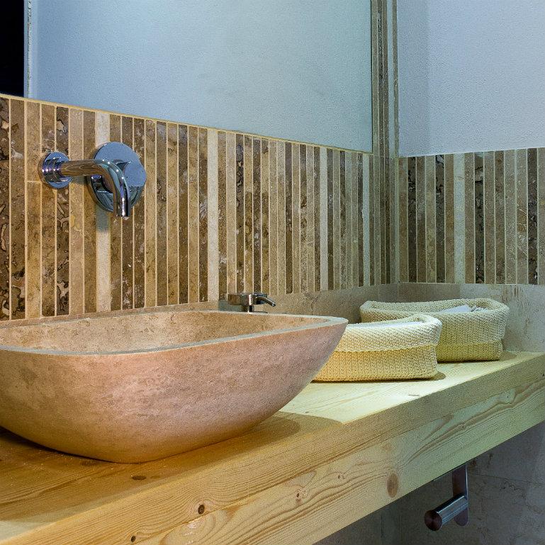 Lavabi da bagno rettangolari lavandino in marmo - Mini lavabo bagno ...