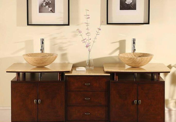 lavabi in pietra a coppia per il tuo bagno