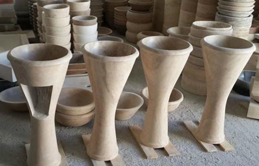 Lavandini in pietra free standing lavandino in marmo - Lavabi bagno in pietra ...