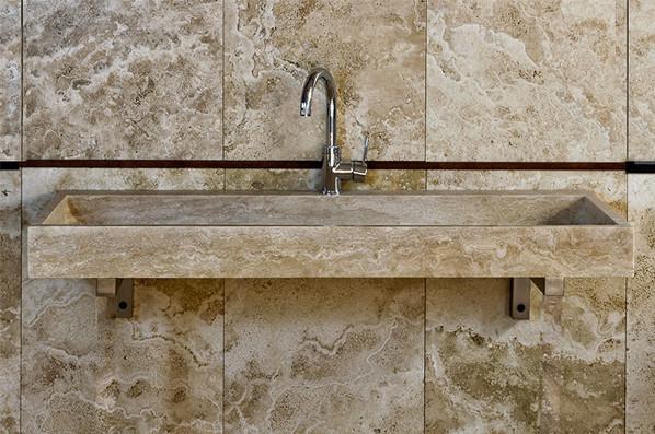 Lavandini in marmo rettangolari lavandino in marmo - Lavandino bagno in pietra ...
