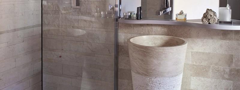 Arredare il bagno lavandino in marmo part 2 - Lavabo bagno in pietra ...