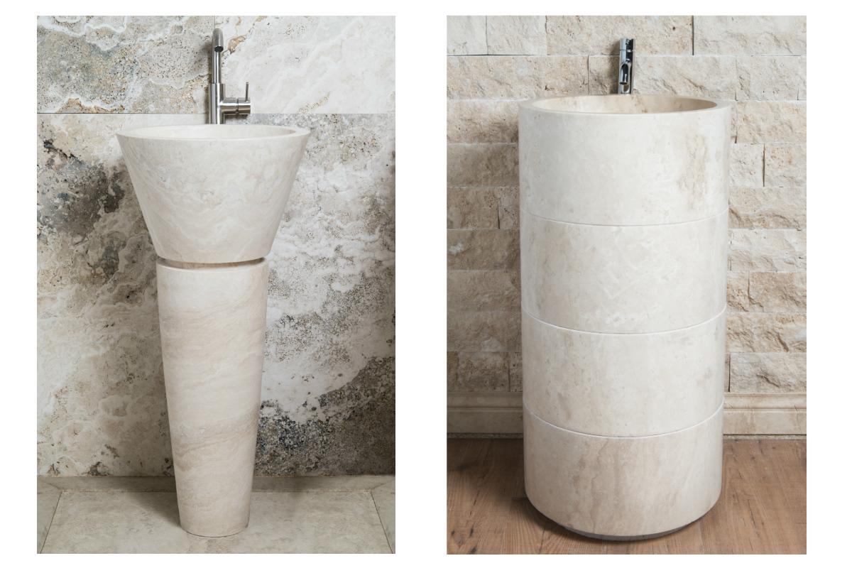 Lavabi Bagno Tondi In Marmo Usati ~ Ispirazione design casa