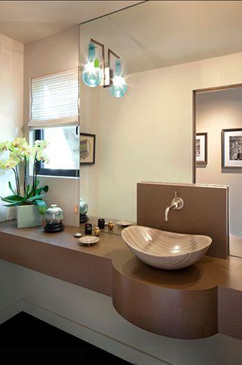 lavabo travertino pietra moderno