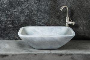 Crib Grey lavabo rettangolare grigio