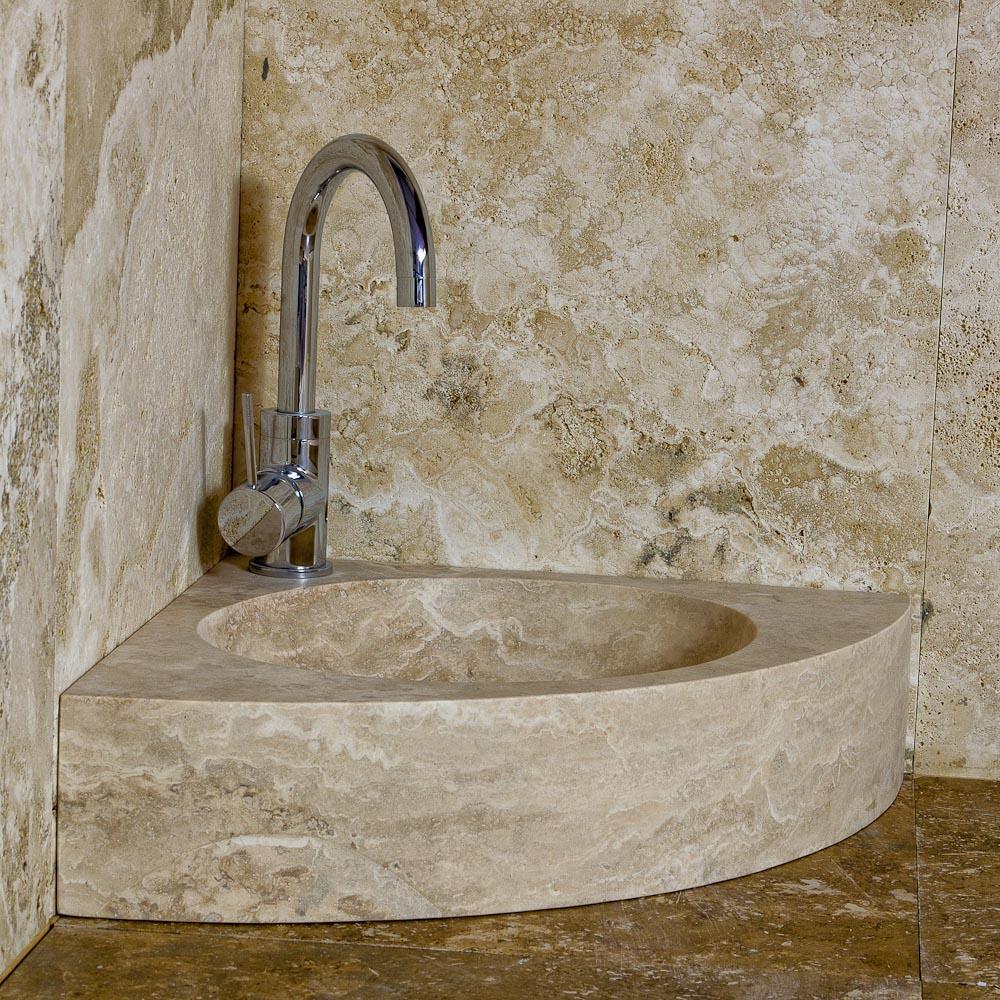 Lavandino in marmo trova l 39 ispirazione per il tuo - Lavabo ad angolo ...