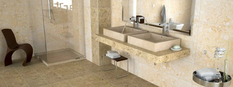 Lavandino in marmo - Bagno in pietra ...