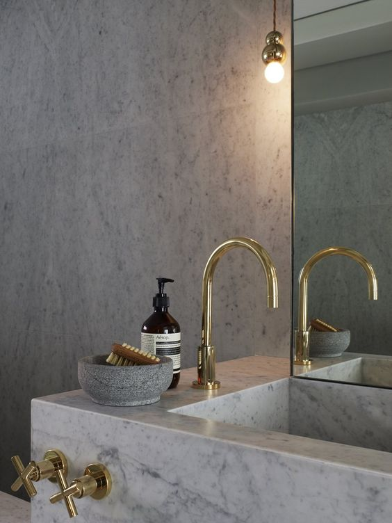 lavabo da bagno in marmo lavandino colorato