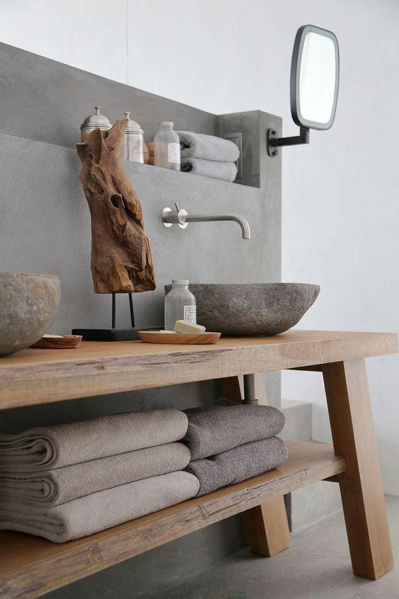 lavabo in pietra pezzo design elegante e naturale