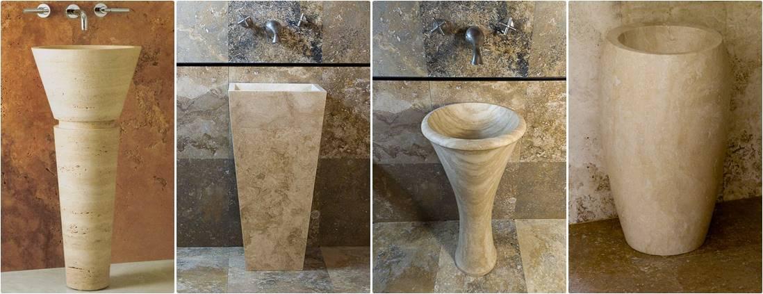 Lavandini a colonna – Lavandino in Marmo